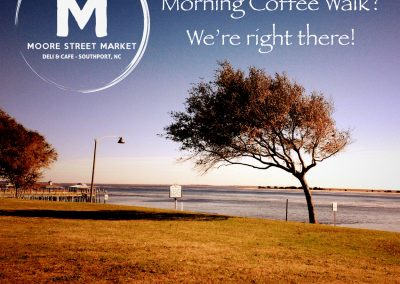 Moore Street Coffee by Cape Fear River